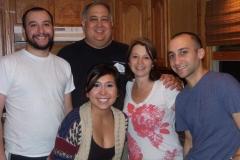 Brian, Vince, Alyssa, Jean, Andrew Cerchio