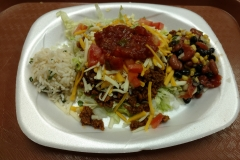 LOH 2016-11-08 Taco salad cilantro lime rice bean salad